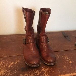 Frye slouchy boots